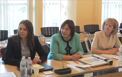 Transfer of experience to Moldovan statisticians