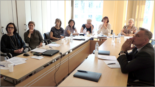 Visit of representatives of the State Statistics Service of Ukraine