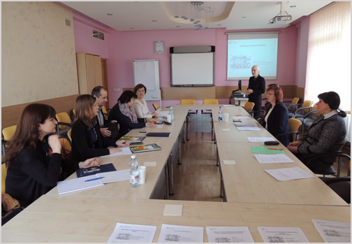 Moldovan statisticians visit