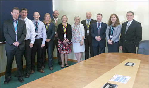Takeover Meeting from the Irish Presidency of the Council Working Party on Statistics to the Lithuanian Presidency was held in Cork, Ireland