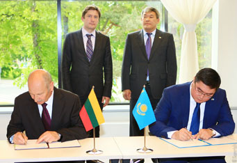 The Lithuanian and Kazakhstan statistical offices will cooperate