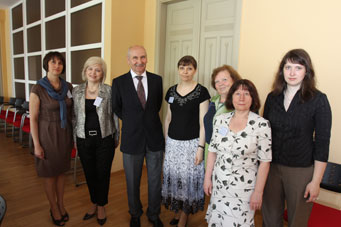 Study visits of the specialists from the State Statistics Committee of Ukraine