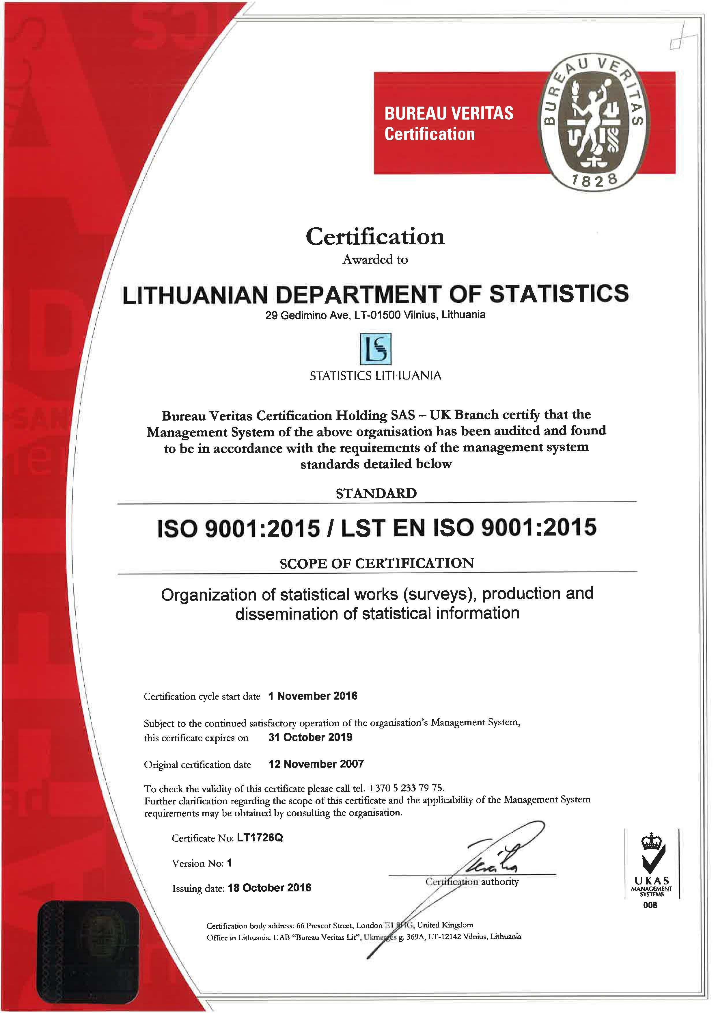Statistics Certificate - Best Design Sertificate 2018